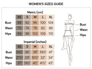 Women's Sizes Guide