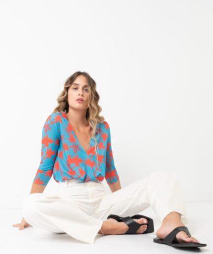 Printed Summer Bodysuit