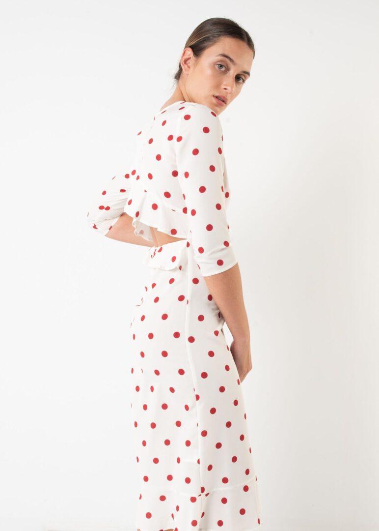 Midi Dots Dress